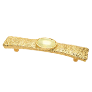 Gold Lux Finish Jewel Cabinet Handle Si