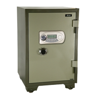 Electronic Safe Fire Proof  - Jewellery/retail Safe - (W)700X(H)1260X(D)640mm - Gree