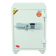Fire Proof Data Safe -  White - 530 X 7