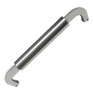 Main Door Handle - Size - 25X350mm - SS/CP Finish