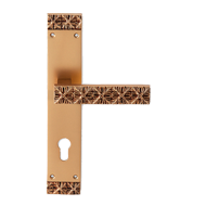 Monnalisa Door Lever Handle with Plate