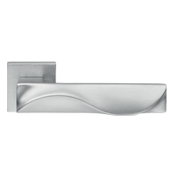DUNA Lever Handle in Satin Chrome Finis