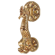 Door Knocker - Satin Bronze Matt Finish