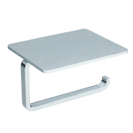 Paper Holder with stand - Chrome Plated Finish