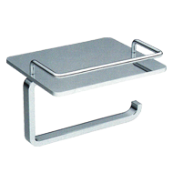 Paper Holder with stand - Chrome Plated