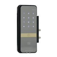 Yale Digital Door Lock with PIN Code, RF Card Key & Remote Control ( Vertical Glass