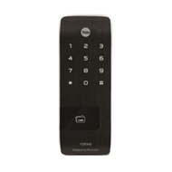 Yale Digital Vertical rim lock with RF Card and touch keypad - Black Colour