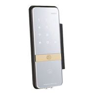 Yale Digital Gate Lock - Mirror Finish