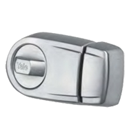 Rim Lock - Dead Lock - Satin Nickel Finish