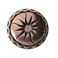 Cabinet Knob - 44mm -  Antique Copper F