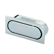 Cabinet Handle - Bright Chrome Finish - 52mm