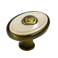 Imported Antique Brass Knob