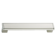 Modern Cabinet Handle - 608mm -  Nickel