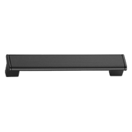 Modern Cabinet Handle - 608mm -  Black