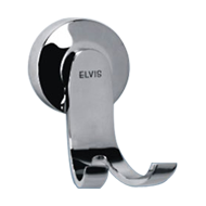 NEW DOLPHIN COLLECTION - Robe Hook -  Chrome Plated Finish