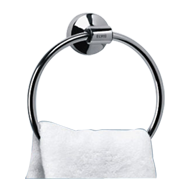 NEW DOLPHIN COLLECTION - Towel Ring - Chrome Plated Finish