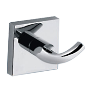 FORTUNE COLLECTION - Robe Hook -  Chrome Plated Finish