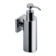 FORTUNE COLLECTION - Liquid Soap Dispenser (Metallic Bottle) -  Chrome Plated Finish