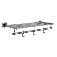 FORTUNE COLLECTION - Towel Rack -  600mm - Chrome Plated Finish