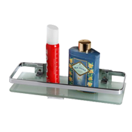 Glass Front Shelf (Frost & Tempered Gla