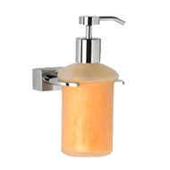 EKKO COLLECTION - Liquid Soap Dispenser -  Chrome Plated Finish