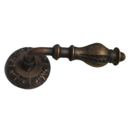 IBIZA Door Lever Handle - Antique Copper Finish