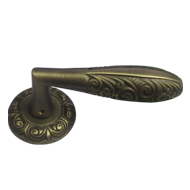 NAPOLI Door Lever Handle - Yester Bronz