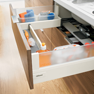 TANDEMBOX Intivo Sink Drawer NL500mm Highfronted Pullout L Height Load Capacity - 30