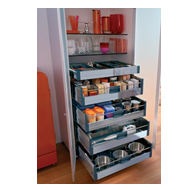 TANDEMBOX Tall Unit for Cabinet Width - 450mm to 1200MM contains set of 1 Standard D