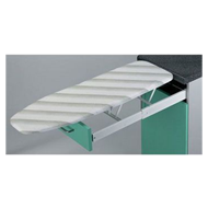 Built-In Ironing Board (Drawer Mounted)- 450mmX600nnX155mm - Steel & White Plastic C