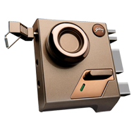 Altrix 1CK Night Latch Door Lock - Milano Bronze Finish