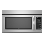 Microwave & Hood Combination - 70cm - Stainless Steel Exterior