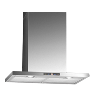 Sensor Touch Wall Mounted Built-in Chimney - 60cm - Stainless Steel Finish