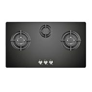 Built-in Glass Hob Triple Rin