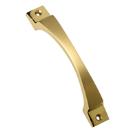 Elvis Cabinet Handle - 100mm - Gold Satin Finish