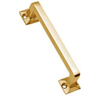 Monty Cabinet Handle - 100mm - Gold Satin Finish