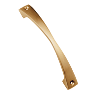 Axe Cabinet Handle - 75mm - Antique Brass Finish