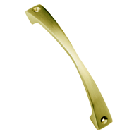 Axe Cabinet Handle - 75mm - Gold Satin Finish