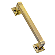 Magna Cabinet Handle - 100mm - Gold Satin Finish