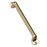 Atlantis Cabinet Handle - 100mm - Gold Satin Finish
