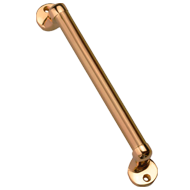 Atlantis Cabinet Handle - 100mm - Antique Brass Finish