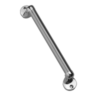 Atlantis Cabinet Handle - 100mm - Brushed Nickel Finish