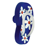 Slipper Kids Knob in Blue Colour