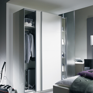 Wardrobe Sliding Fitting for 2 Doors (O