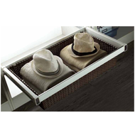 Cane Drawer Basket with Silent Soft Closing - 900mm
