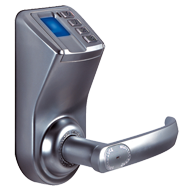 Keyless Biometric Fingerprint Door Lock - Silver Colour