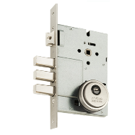 Double Door 3 Locking Bolt - Matt Silve