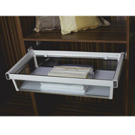 Glass Drawer Basket with Sile