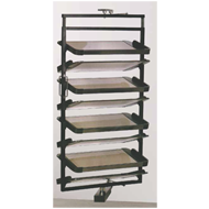 8 Layers Revolving Shoe Rack