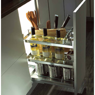how to use kitchen knives kitchen accessories bottle rack waste bin cutlery tray 24265